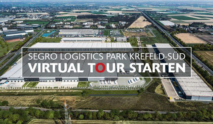 Sichern Sie sich Ihre Flächen im SEGRO Logistics Park Krefeld-Süd – aber zunächst nehmen wir Sie mit auf Besichtigungstour.
